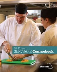 click to see details for ServSafe Coursebook 7th Ed, English, with Exam Answer Sheet