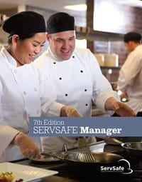 click to see details for ServSafe Manager Book 7th Ed, English, with Exam Answer shee